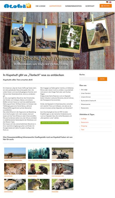 Seo Content für Webseite eines Gästehaus