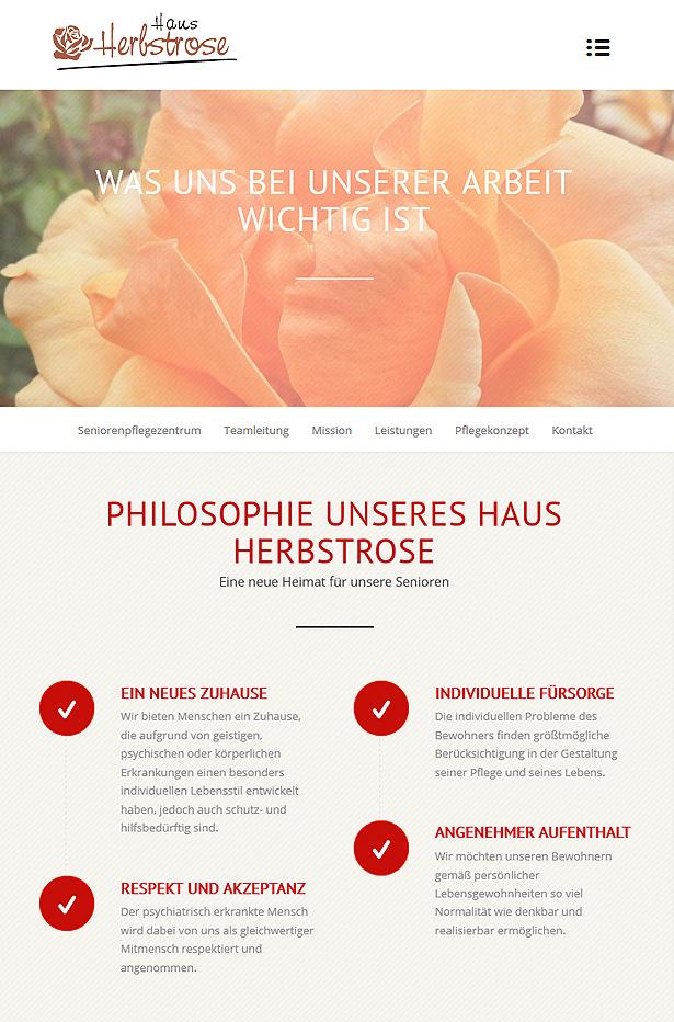 seniorenheim webseite seo und fotografie