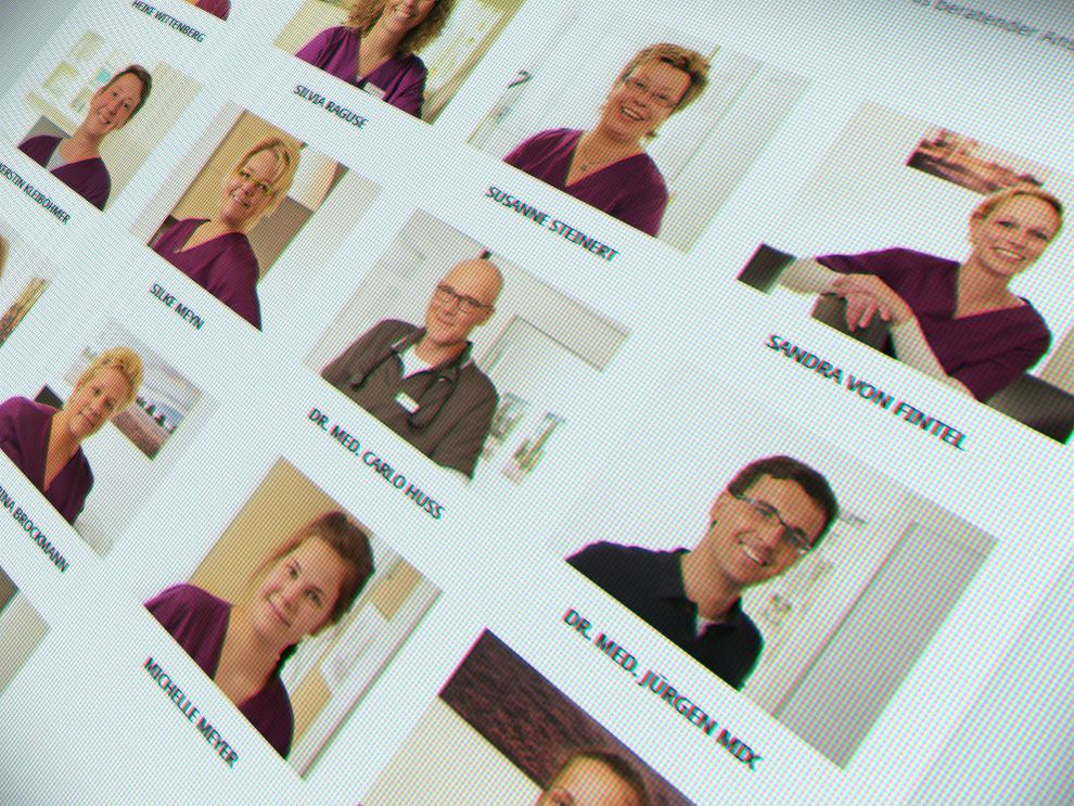 Mitarbeiterfotografe für Arztpraxis im Heidekreis