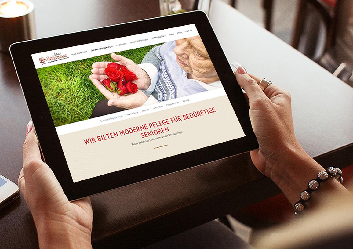 Pflegeheim Konzept und UX-Design