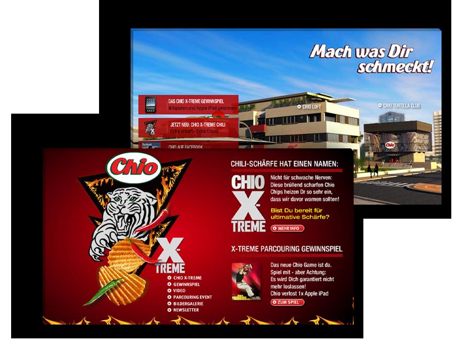 Content Marketing beispiel chio chips