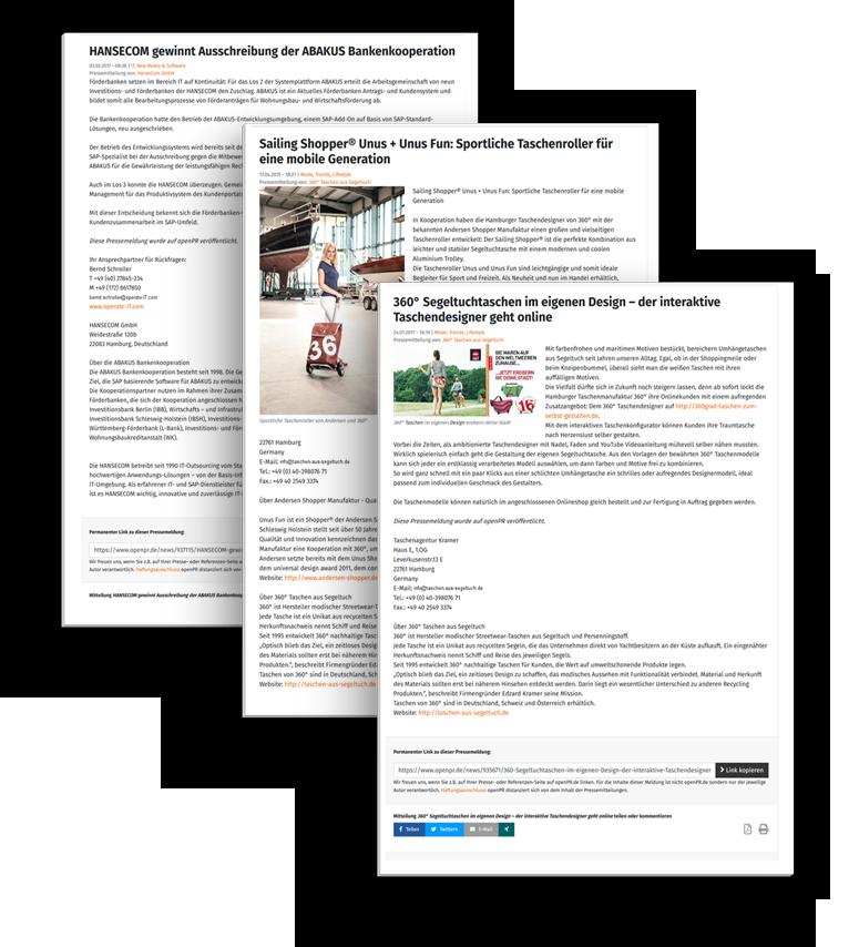 Unternehmenskommunikation und Pressetexte für Unternehmen