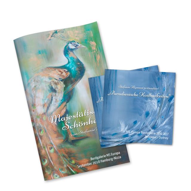 Broschüren & Flyer für Künstler