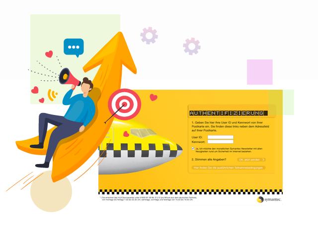 Gewinnspiel symantec - erica online Marketing