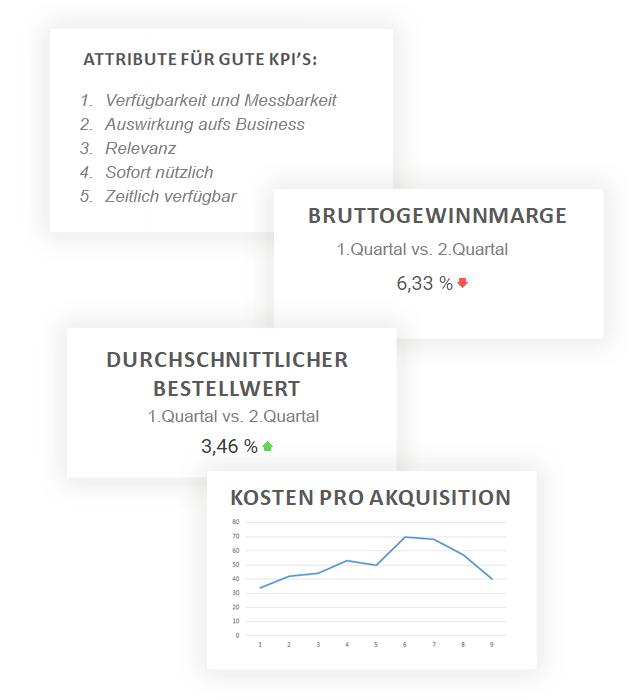 KPI, Performance analysen von erica