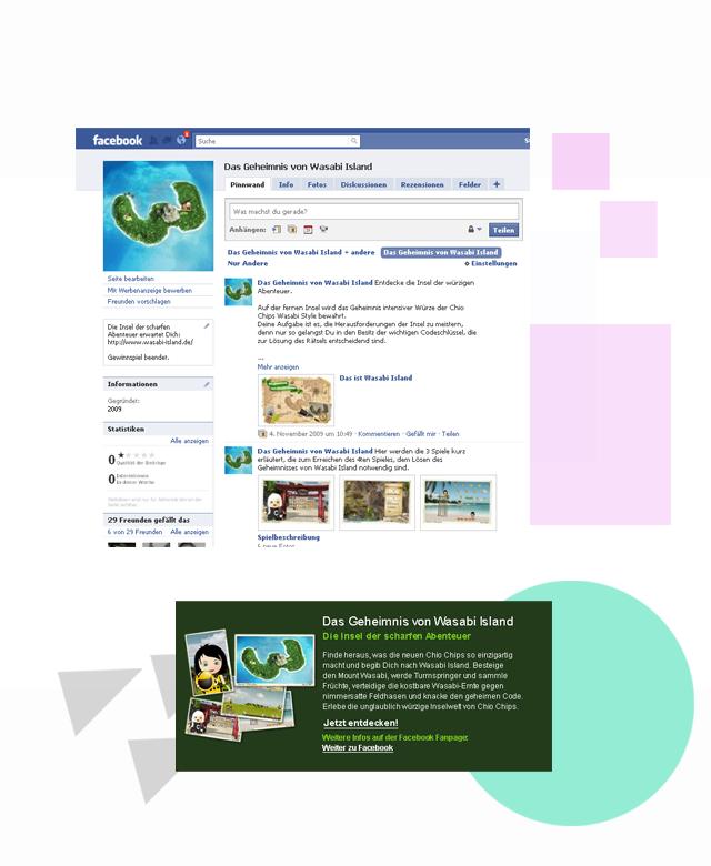 Chio Wasabi Online Promo, Konzept und Strategie Gewinnspiel von erica